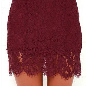 Lulus lace two piece set